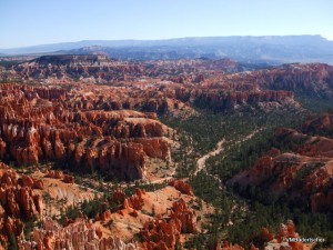 Bryce Canyon in the sunlight