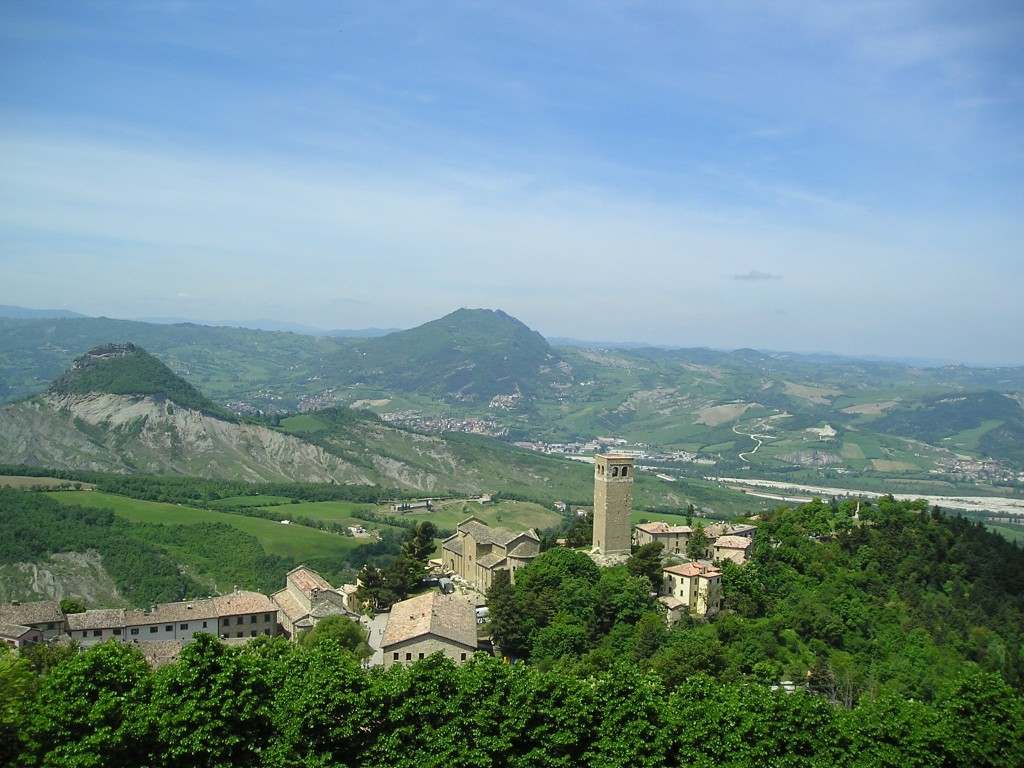 View from San Leo Castle