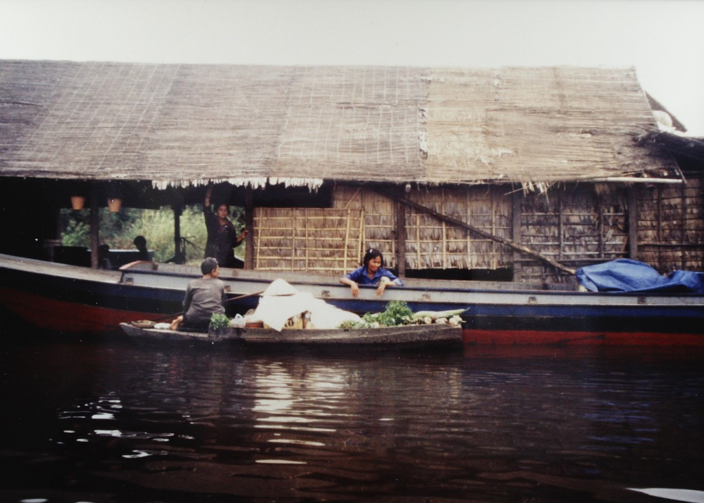 Grocery Store at Floating Village on Tonle Sap
