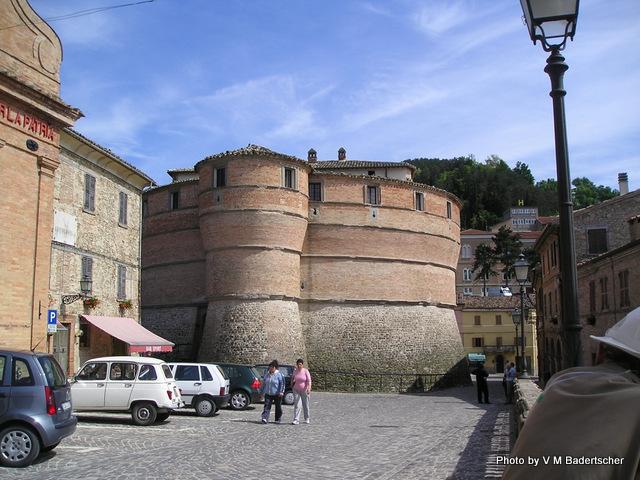 Sassocorvaro Tortoise Towers