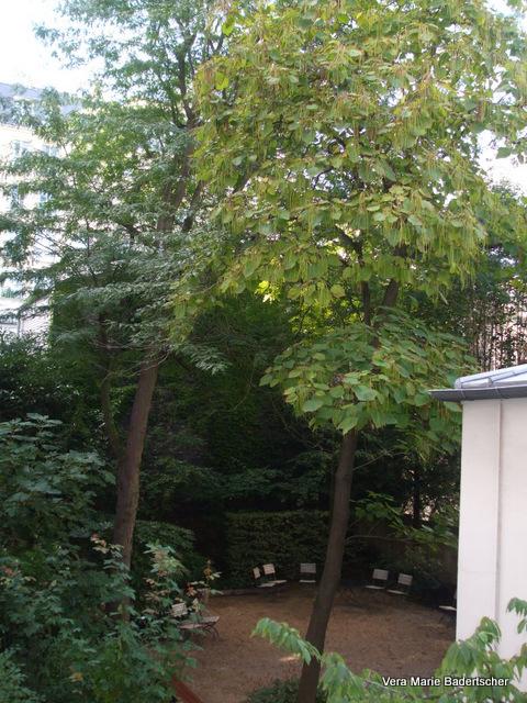 Musee Delacroix garden, Paris