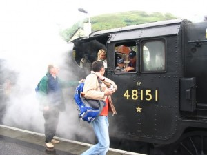 Harry Potter steam engine