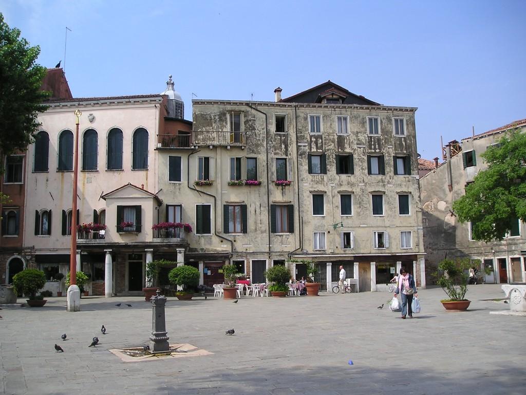 Campo, Venice Ghetto, Italy
