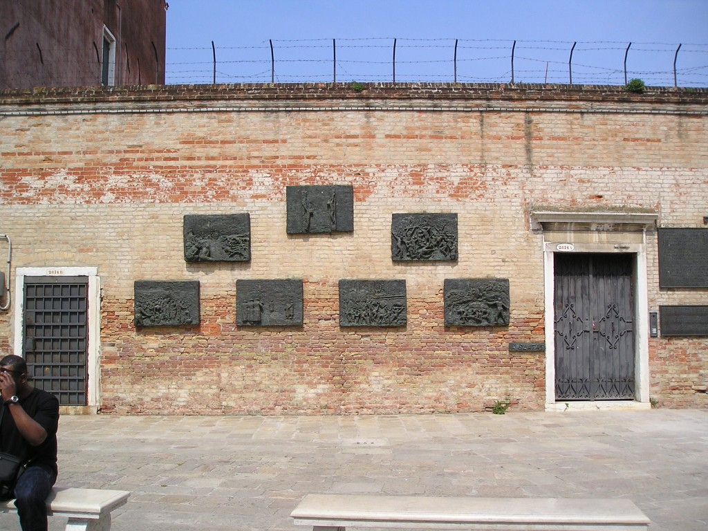 Venice Ghetto Holocaust Memorial