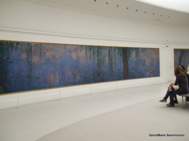 Monet's Water Lillies at Orangerie