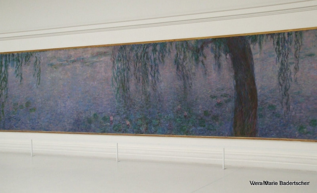 Monet's Water Lillies, the Orangerie