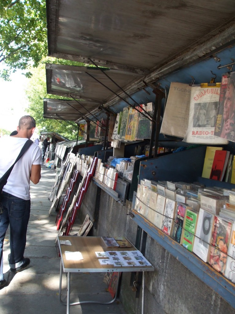 Paris Book Seller by the Seine