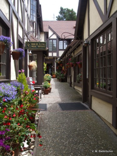 A side street in Carmel
