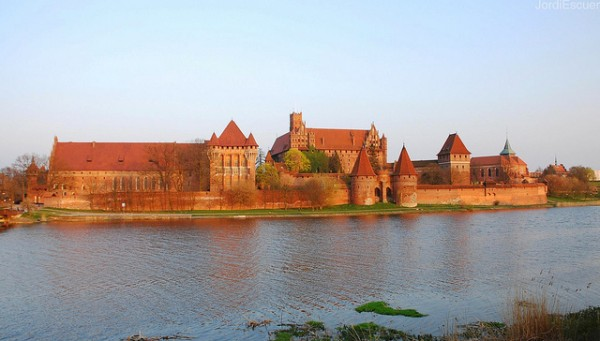 Malbork Castle in Polish Prussia