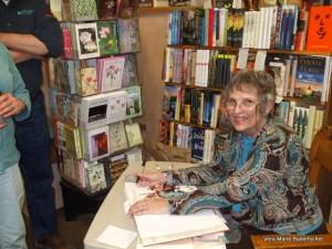 Vera Marie at Book Signing