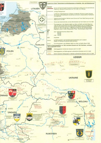 Continuing East in Germany/former Prussian lands