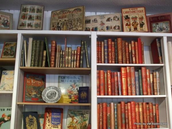 Antiquarian children's book store
