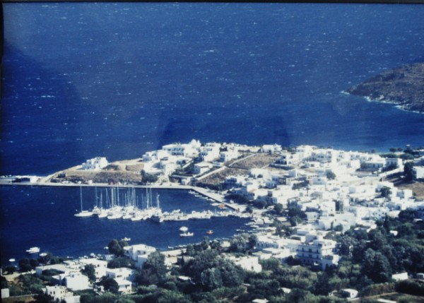 Island of Serifos, Livadi from Chora