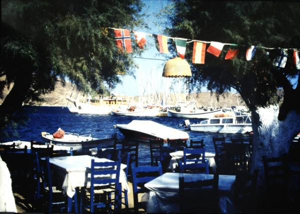 Island of Seriphos, Typical port taverna