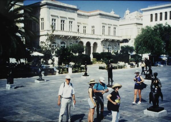 Town Hall Square, Ermoupoli, Syros