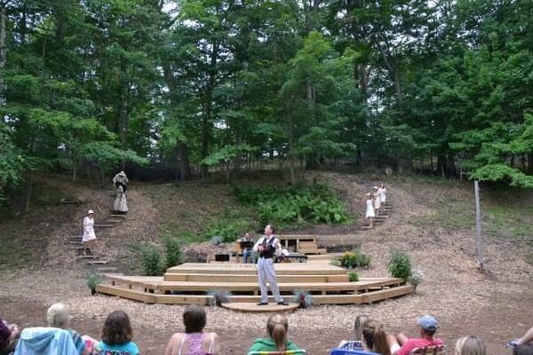 Lakeside Shakespeare Theater, Frankfort, MI