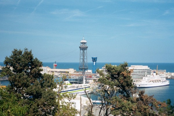 The Harbor of Barcelona