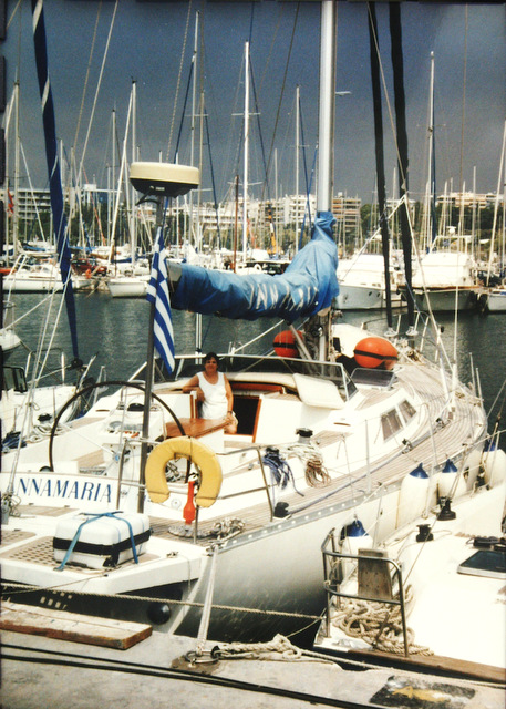 Our boat, Annamaria