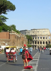 Roman Soldier on the Via Imperiale