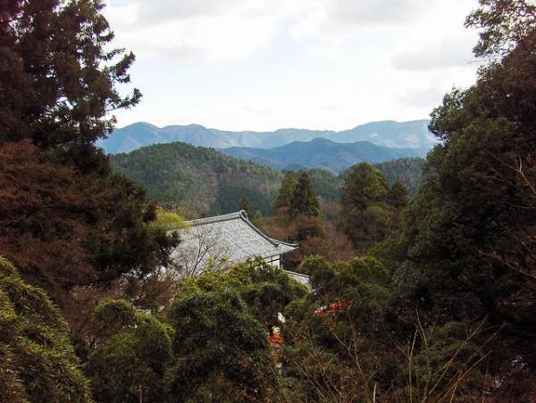 Japan mountain scene