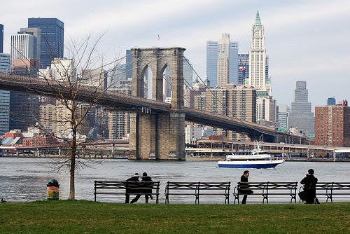 Brooklyn NY skyline