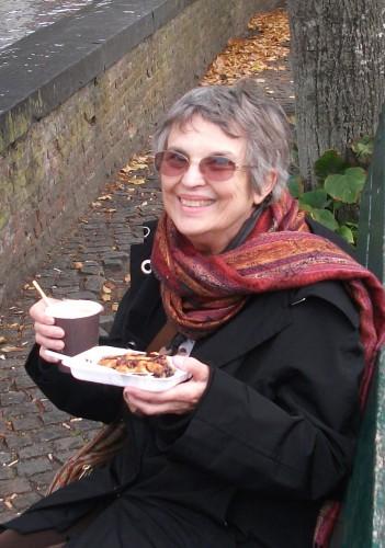 Chocolate makes me smile in Bruges