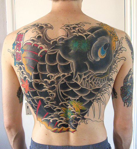 Japanese Horimono tattoo