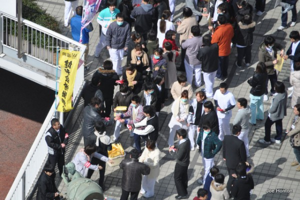 Tsunami Relief Efforts in March, 2011, Japan