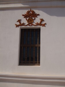 San Xavier del Bac restored window