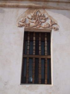 San Xavier del Bac un-restored window