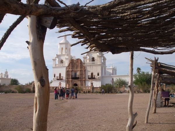 San Xavier from food ramada
