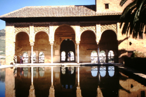 Reflecting pool in the Alhambra