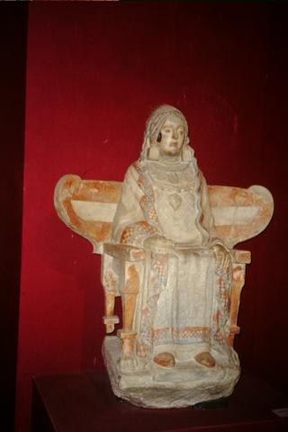 Roman figure in Granada Archaeological museum
