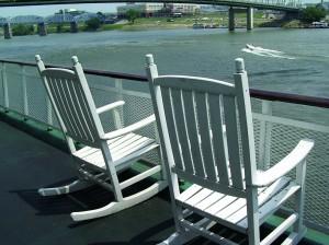 Deck of Mississippi Riverboat