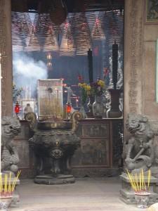 Ha Chuong Hoi Quan Pagoda, Cholon, Saigon