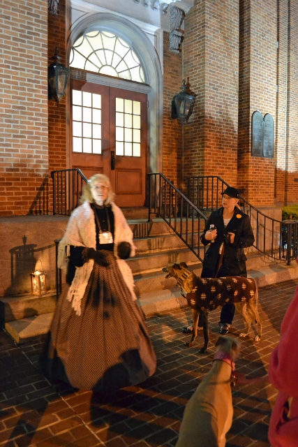 Greyhounds in Gettysburg Ghost Tour