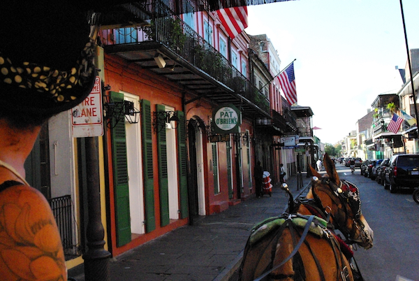 Ghost Carriage Tour, New Orleans, Louisiana