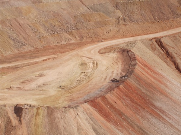 Copper mine, Morenci, Arizona