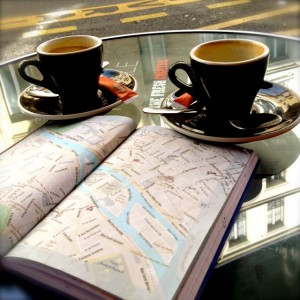 Bound to Travel at cafe