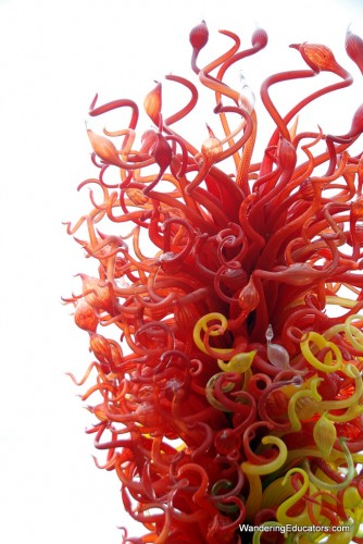 Chihuly Glasss Sculpture