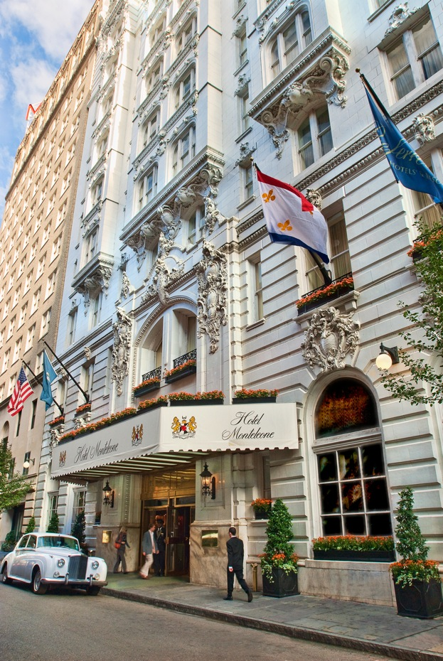 Front entrance of Hotel Monteleone