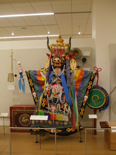 Mongolian costume at Musical Instrument Museum, Phoenix