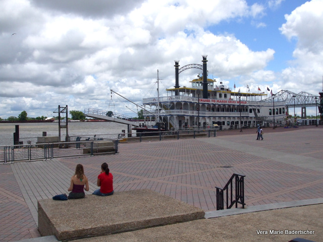 Steamboat at New Orleans Riverfront