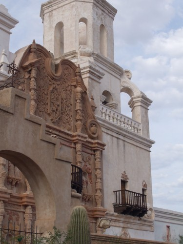 San Xavier del Bac facade