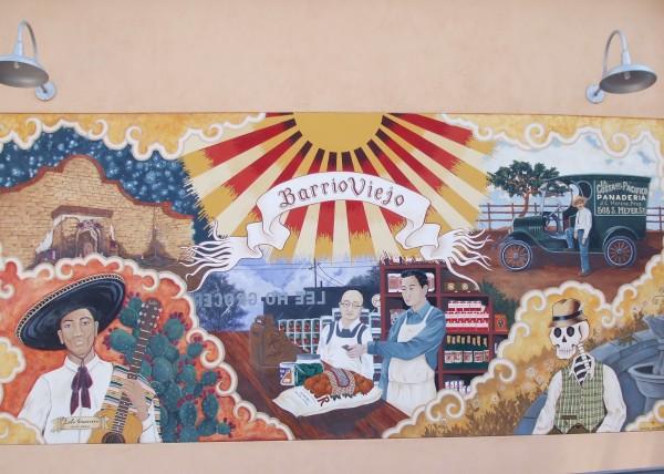 Mural in Barrio Viejo
