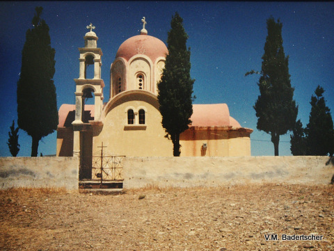 Church at Kato Zakros, Crete