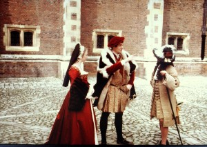 Period Costumes at Hampton Court
