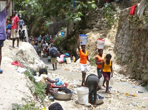 Haiti : Seeking Water