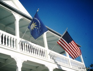 Key West and U.S. Flags