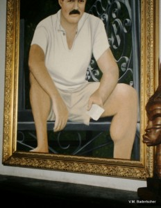 Ernest Hemmingway portrait
